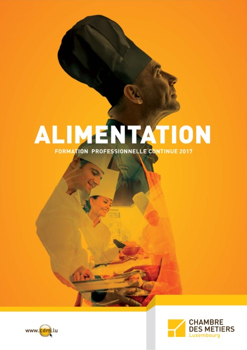 Formation continue 2017 : Alimentation