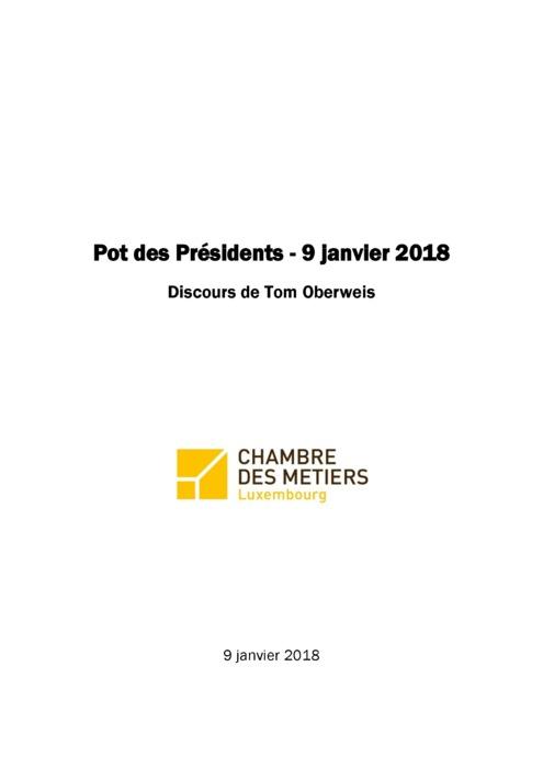 Discours Tom Oberweis