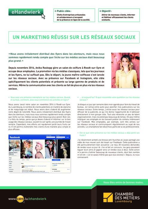 Un marketing réussi sur les réseaux sociaux
