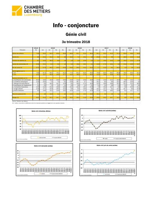 Info-conjoncture: Génie civil