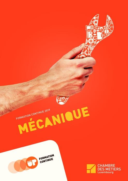 Formation Continue 2019 - Mécanique