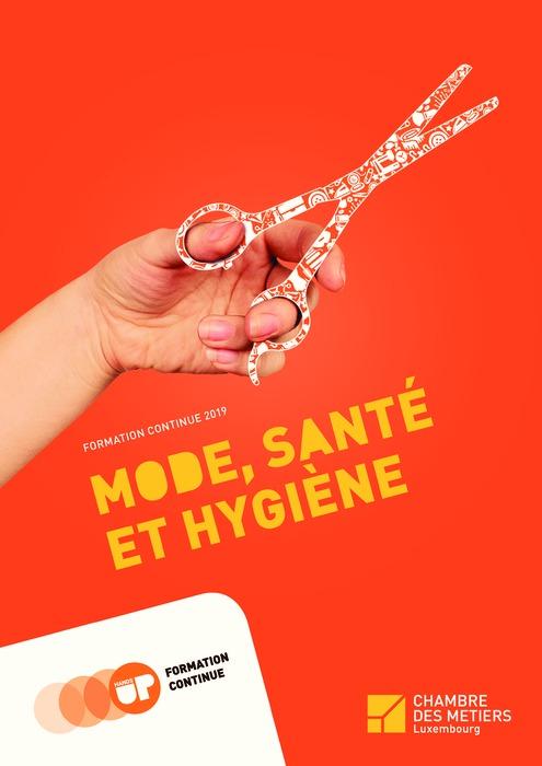 Formation Continue 2019 - Mode, Santé & Hygiène