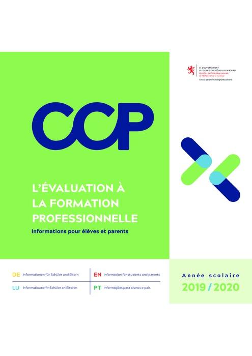 L'évaluation à la formation professionnelle - CCP