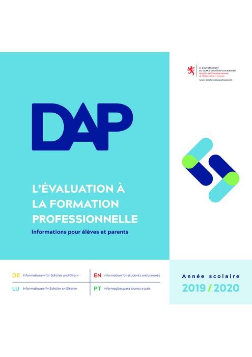 L'évaluation à la formation professionnelle - DAP