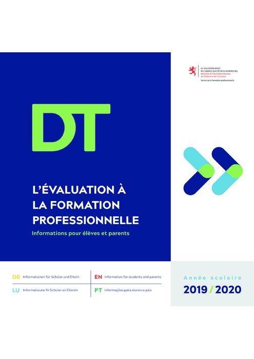 L'évaluation à la formation professionnelle - DT