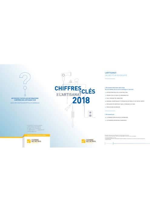 Chiffres-clés de l'Artisanat 2018