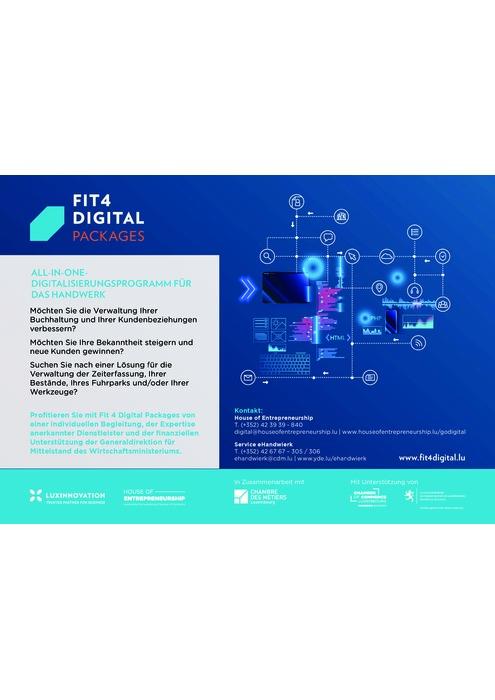 Fit4Digital Packages Handwierk DE