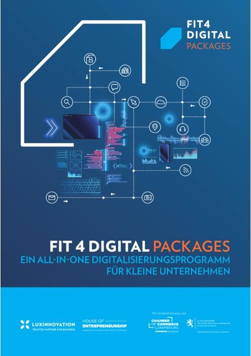 Fit4Digital Packages Brochüre