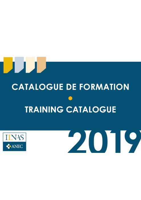 Catalogue de formation ILNAS 2019