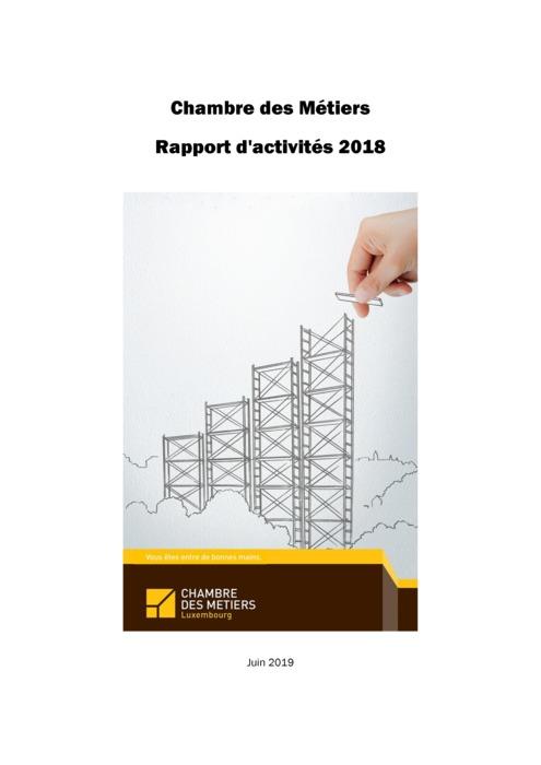Chambre des Métiers: Rapport d'activités 2018