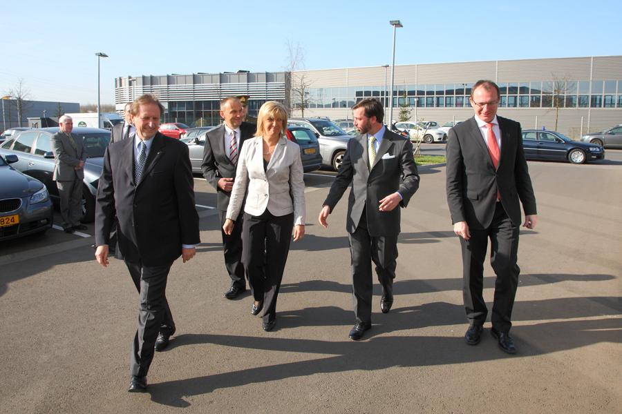 Visite de l'imprimerie REKA, 29 mars 2012