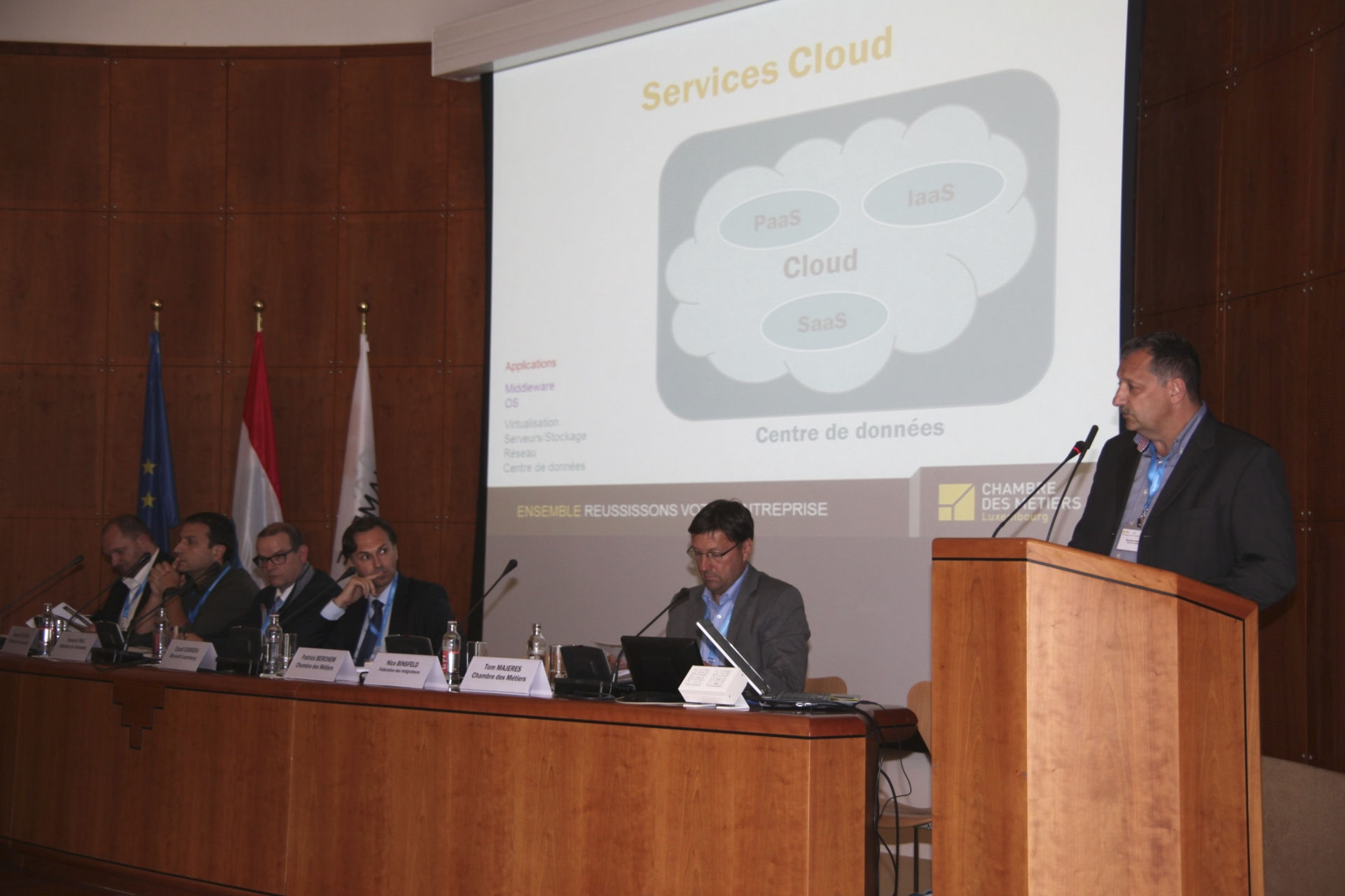 Journées eHandwierk: Le Cloud Computing au service des PME 2015