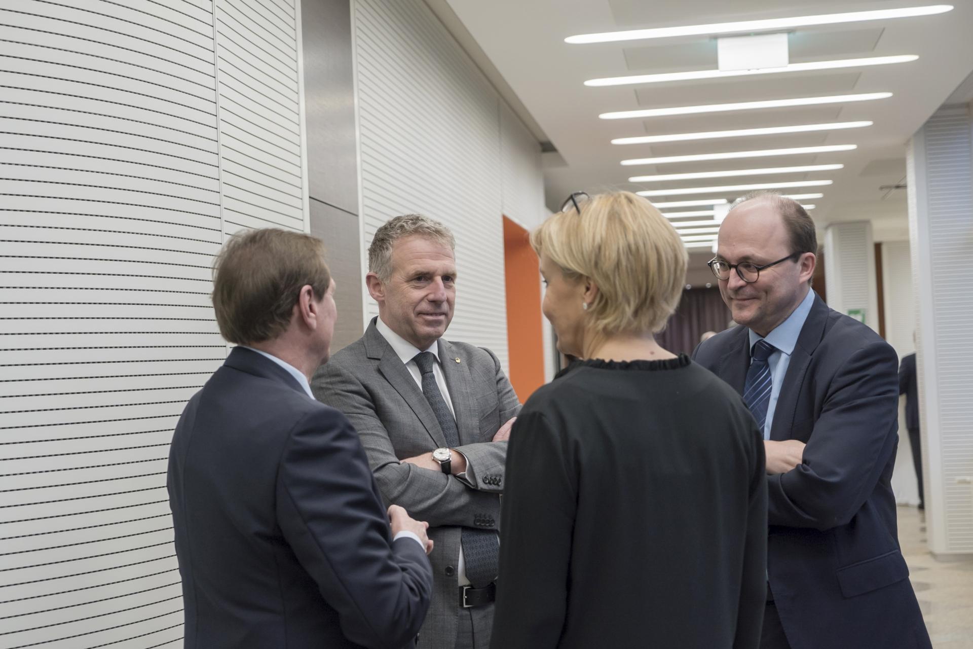 Soirée en l'honneur du Président honoraire, Monsieur Roland Kuhn du 23 janvier 2018