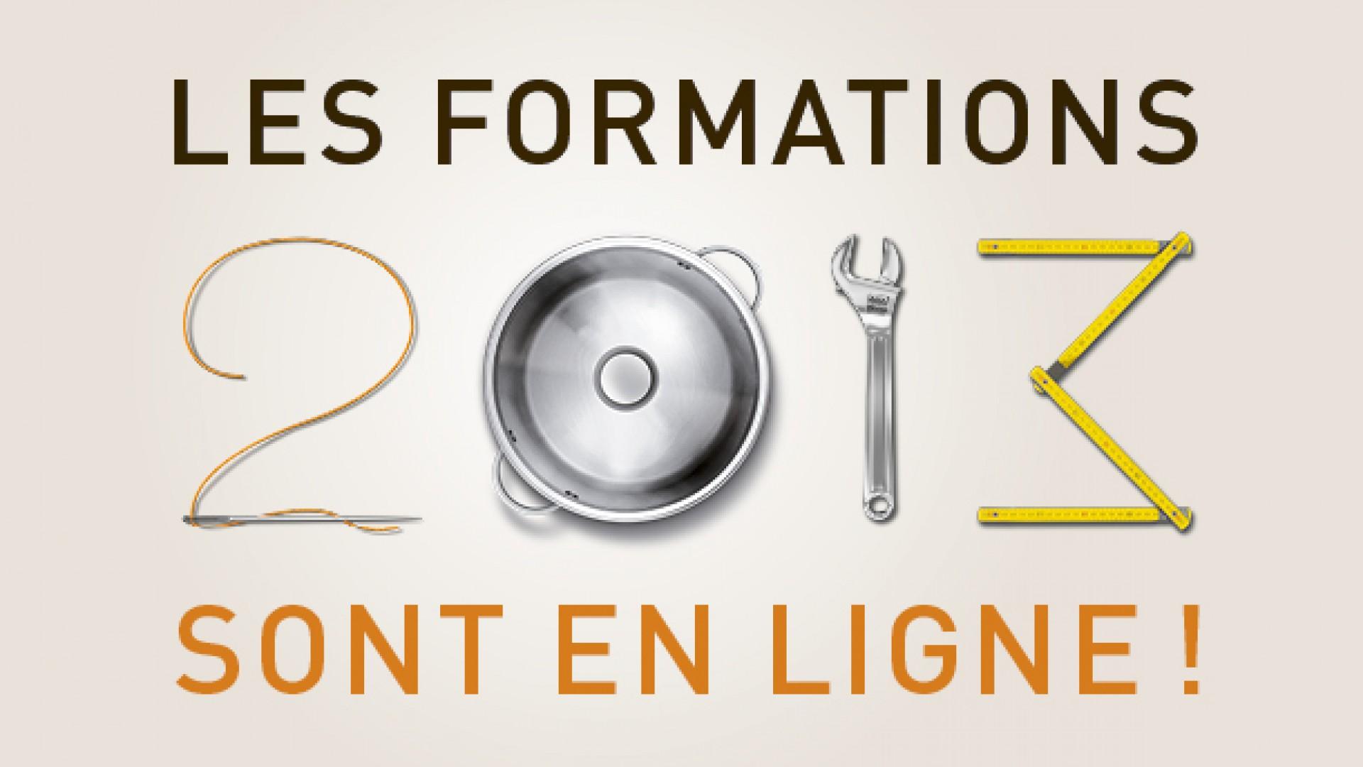 Les Formations 2013 Sont En Ligne Chambre Des M Tiers