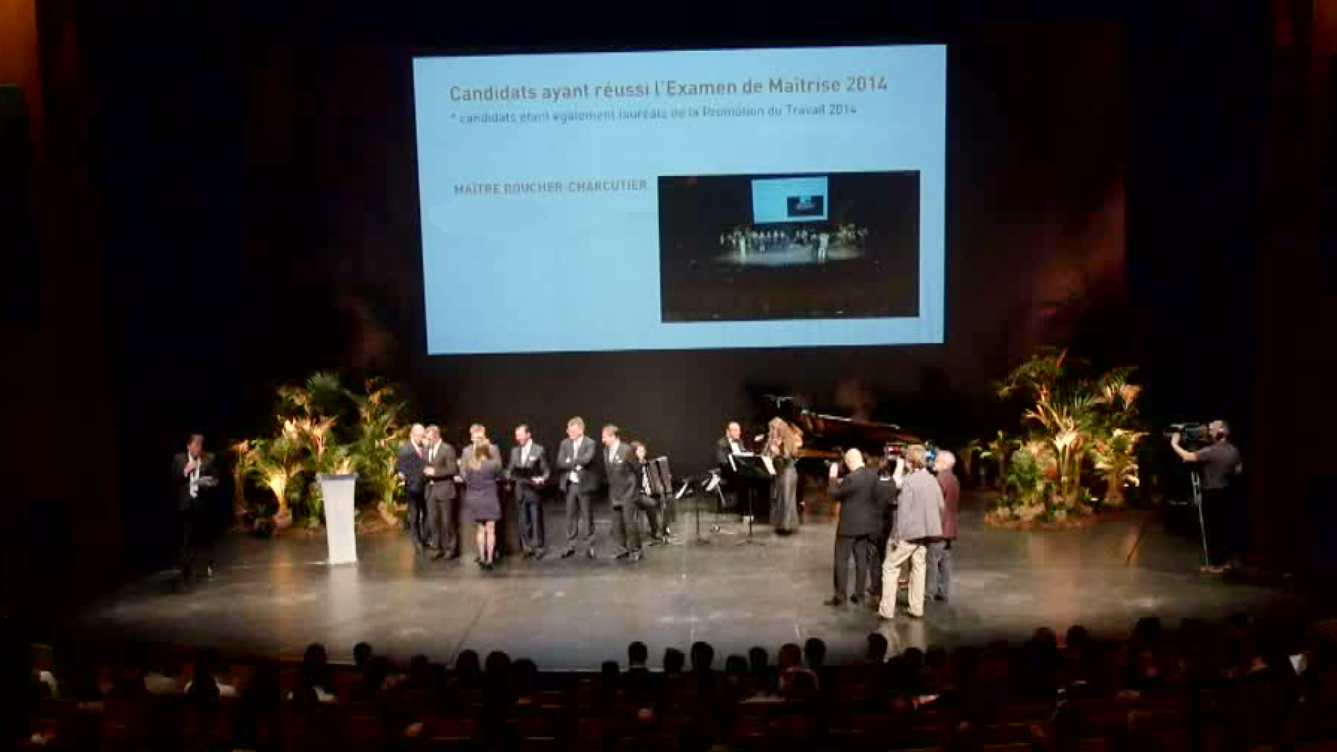 Video Remise Brevet de Maitrise session 2014