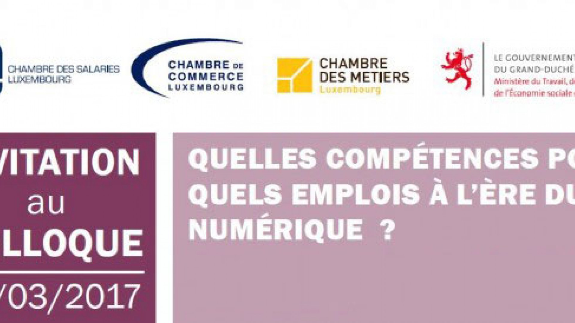Colloque quelles comp tences pour quels emplois l re for Chambre de commerce internationale emploi
