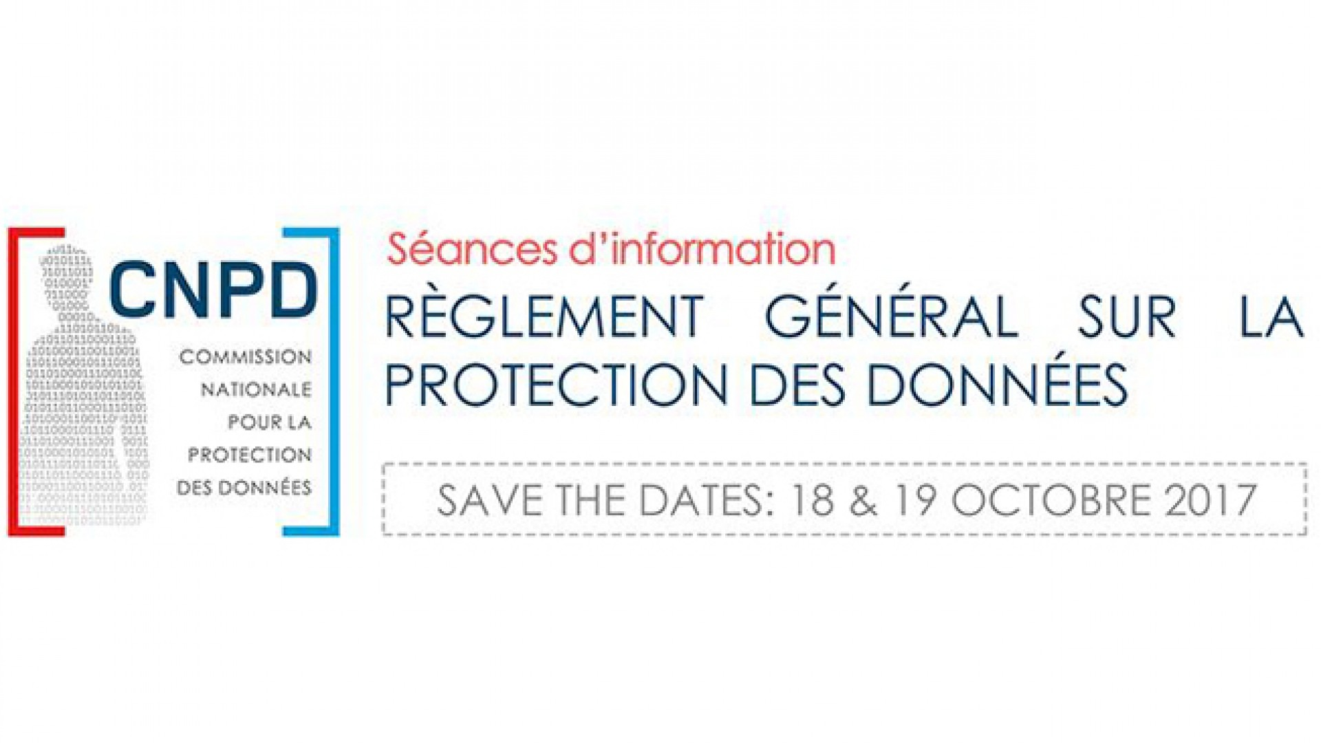 Save the date CNDP