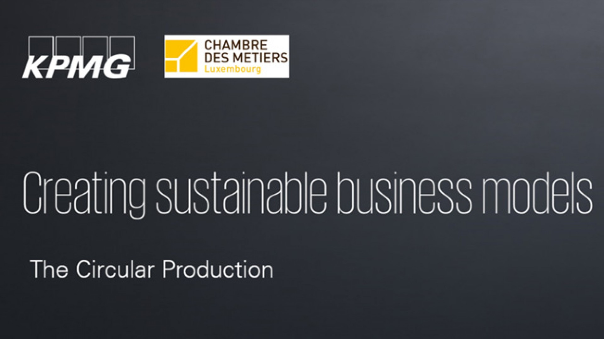 KPMG CdM Production-circulaire News